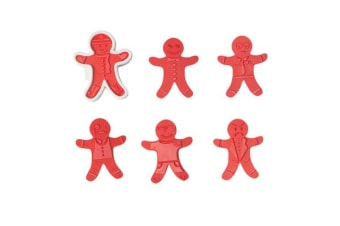 Tovolo Ginger Boys 6pc Cookie Cutter Set