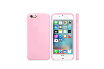 Silicone Gel Rubber Shockproof Protective Case Cover For Iphone Hot Pink Iphone X/Xs