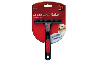Interpet Limited Mikki Undercoat Rake (Black/Red)