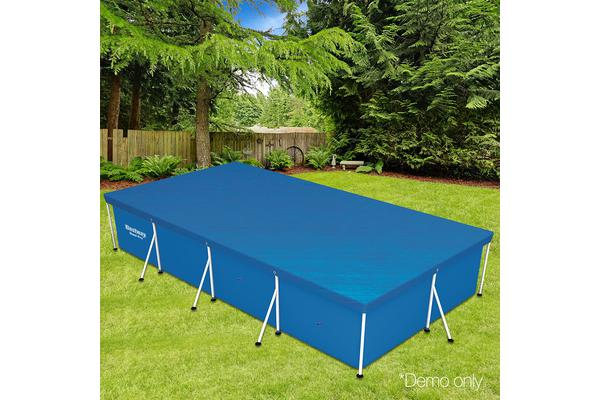 Bestway PVC Rectangle Pool Cover (Blue)