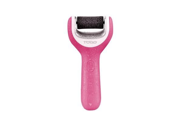 Rechargeable Pedicure Waterproof Foot File Callus Remover Tool Ipx4 Pink