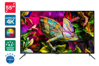 "Kogan 55"" 4K HDR LED TV (Series 8 JU8100)"