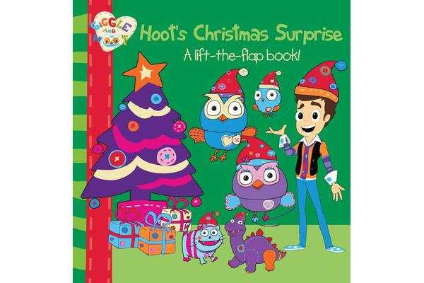 Hoot S Christmas Surprise A Lift The Flap Book By Giggle And Hoot