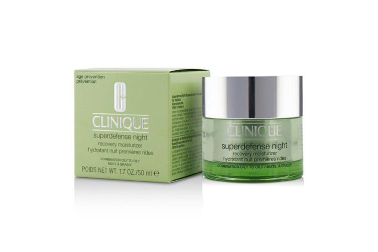 Clinique Superdefense Night Recovery Moisturizer - For Combination Oily To Oily 50ml