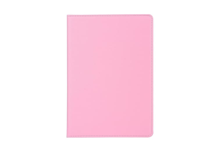 For iPad Pro 12.9 Inch (2018) Case Lychee Texture PU Leather Folio Cover Pink