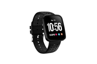 TODO Bluetooth V4.0 Smart Watch 0.96 Oled Heart Rate Blood Pressure Ip67 Black