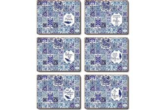 Cinnamon Vintage Blues Placemat Set of 6