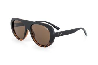 Quay Australia Women's Bold Move Sunglasses - Tortoise Fade/Brown