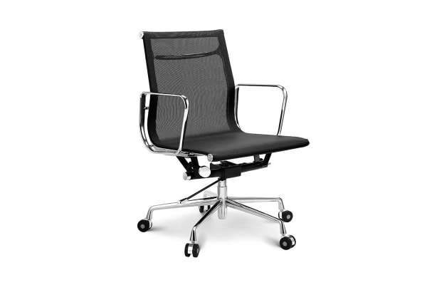 Ovela Executive Eames Replica Low Back Mesh Office Chair (Black ...
