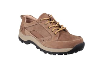 Cotswold Mens Nailsworth Lace Up Perforated Shoes (Tan) (11 UK)