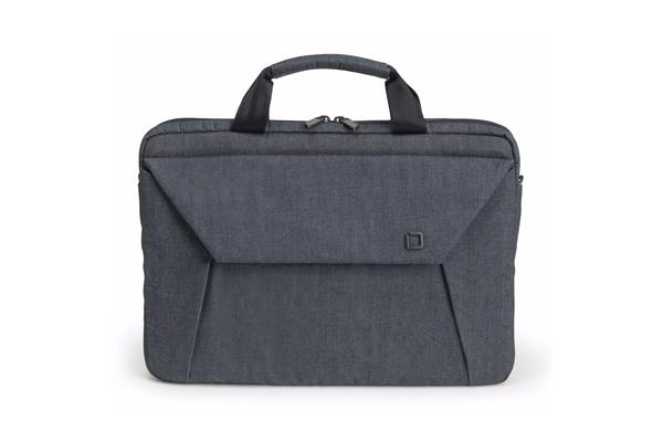 "Dicota Slim Case EDGE Carry Bag with shoulder strap for 12.1"" - 13.3""  Notebook /Laptop (blue denim"