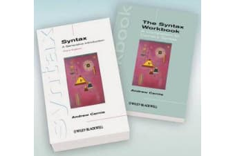 Syntax - A Generative Introduction 3rd Edition and The Syntax Workbook Set