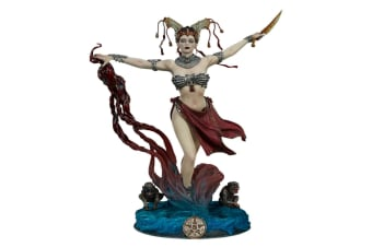 """Court of the Dead Gethsemoni Queens Conjuring 10"""" Statue"""
