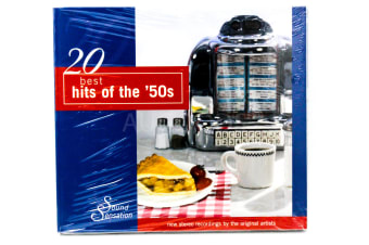 20 Best Hits of the 50s BRAND NEW SEALED MUSIC ALBUM CD - AU STOCK