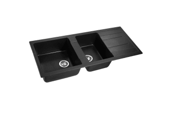 Stone Kitchen Sink (Black) 1160x500