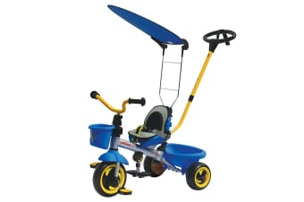 Eurotrike Ultima Plus with Canopy - Blue