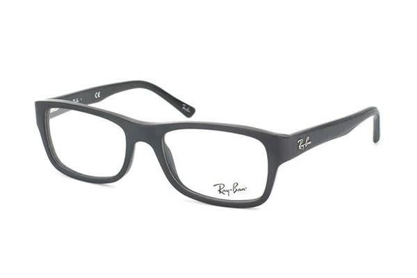 Ray-Ban RX5268 - Black (Standard lens) / 50--17--135 Unisex Glasses