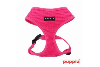 Puppia Neon Dog Harness Pink - M