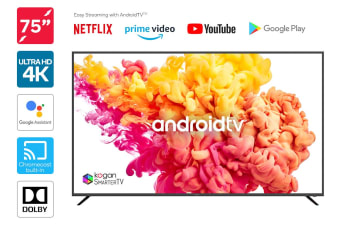 "Kogan 75"" Smart HDR 4K LED TV Android TV™ (Series 9, XU9210)"