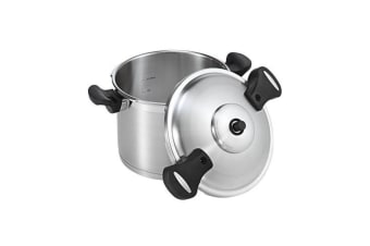 NEW SCANPAN 18301 PRESSURE COOKER 22CM 6L STAINLESS STEEL