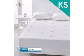 King Single Size Coolmax Mattress Protector