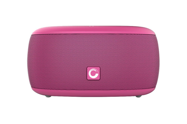 DOSS SoundBox XS Portable Bluetooth Speaker with Bluetooth 4.0 and 10W HD Sound - Pink (DS1003PNK)