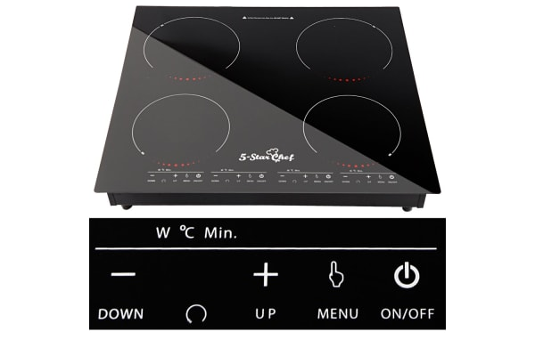 5 Star Chef Electric Induction Cooktop Ceramic