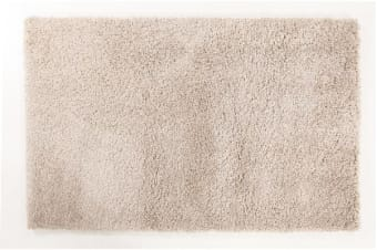Thick Soft Polar Shag Rug - Light Beige