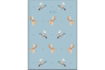 Country Fayre - 2020 Diary Planner A5 Padded Cover by The Gifted Stationery