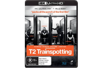 T2 Trainspotting 4K Ultra HD Blu-ray Digital Download UHD Region B