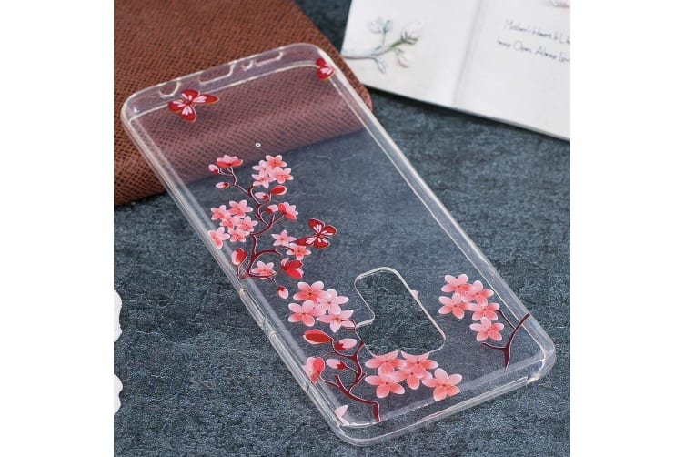For Samsung Galaxy S9 PLUS Back Case Maple Leaves High-Quality Protective Cover