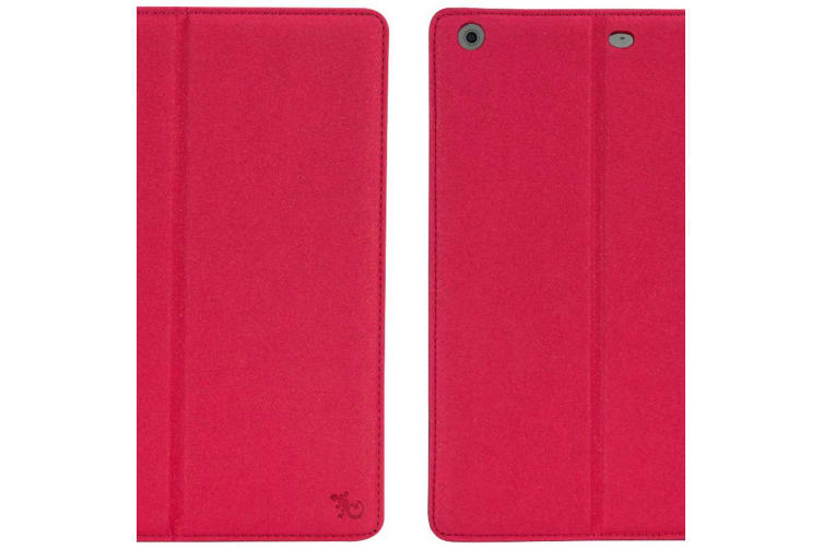 Gecko Elegant Folio Case Cover Padded Protection w/ Stand For Apple iPad 5 Pink