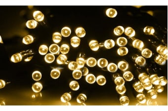 200LED 25m Solar Power Thicker String Light WARM WHITE