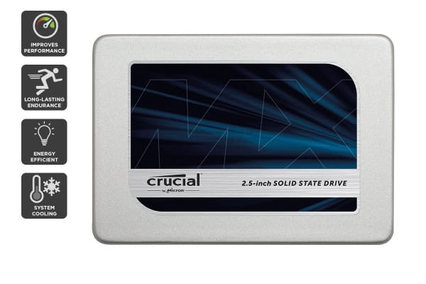 "Crucial 1TB MX300 SATA 2.5"" 7mm with 9.5mm adapter SSD (CT1050MX300SSD1)"