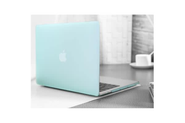 """Generic MacBook Pro 15.4"""" Matte Rubberized Hard Case Shell Cover(Green) for A1707 Snap on design"""