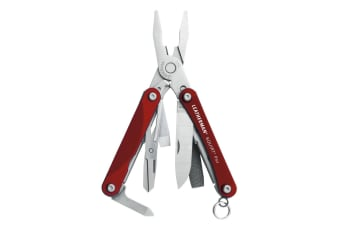 Leatherman Squirt PS4 - Red - Clam