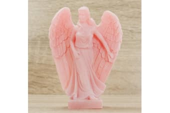 Archangel Jophiel Statue Female Pink Figurine Angel of Artists 138mm Gift Boxed