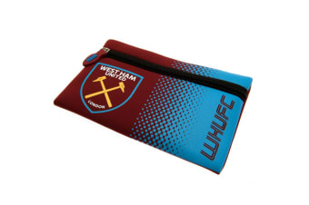 West Ham United FC Pencil Case (Red/Blue) (One Size)