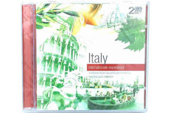 Internationale Experience: Italy Mandalin & Accordion songs MUSIC CD NEW SEALED