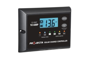 PROJECTA 10 AMP SOLAR PANEL REGULATOR CONTROLLER 4 STAGE UTOMATIC 12 VOLT 10 AMP