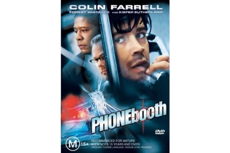 PHONEBOOTH - Rare- Aus Stock DVD PREOWNED: DISC LIKE NEW
