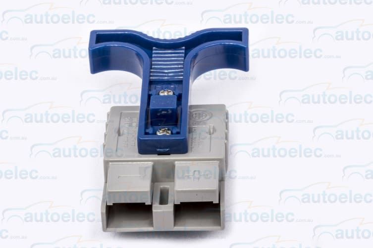 50AMP ANDERSON PLUG T HANDLE 50 AMP 50A DUAL BATTERY SYSTEM BLUE
