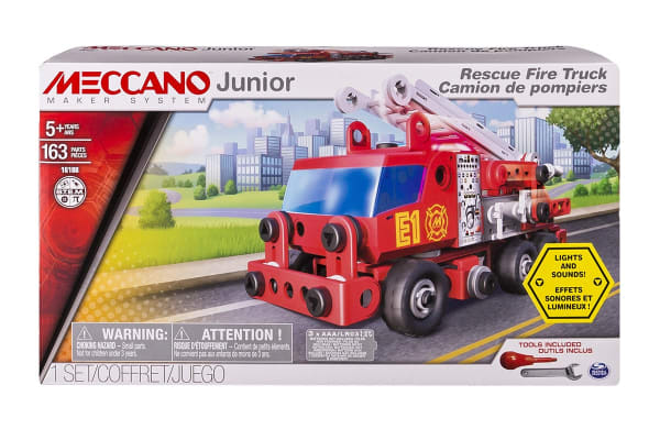 Meccano Junior Rescue Fire Truck
