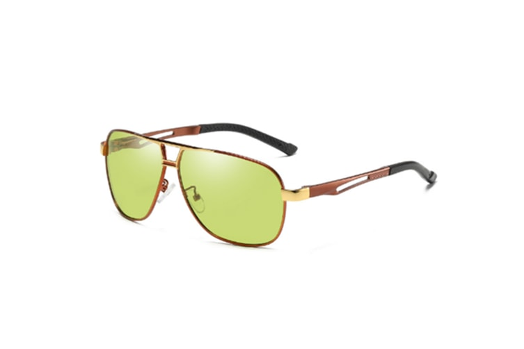 Automatic Color Change Hd Vision Day Night Polarized Sunglasses - 2