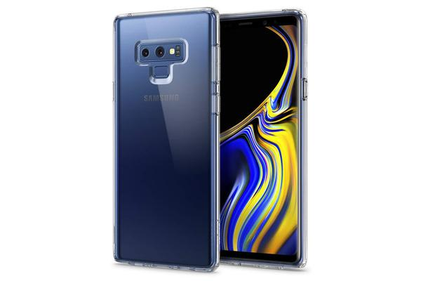 finest selection 6e39e 9c2b7 Spigen Galaxy Note 9 Ultra Hybrid Case Crystal Clear Certified  Military-Grade Protection
