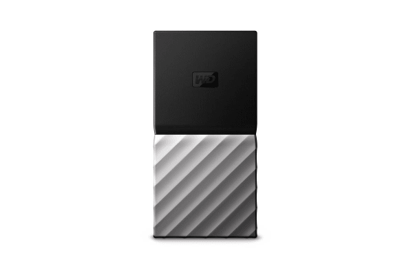 WD My Passport SSD 256GB Portable Hard Drive (WDBK3E2560PSL-WESN)