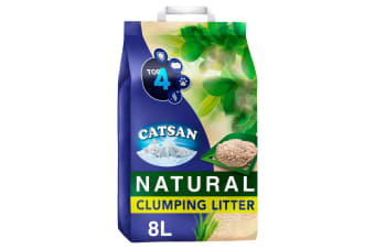 Catsan Naturally Biodegradable Clumping Cat Litter (May Vary) (8L)