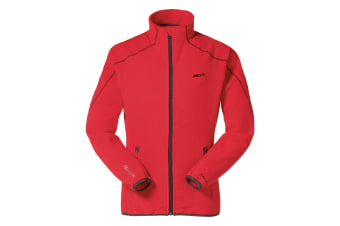 Musto Mens Essential Evo Full Zip Fleece Jacket (True Red)