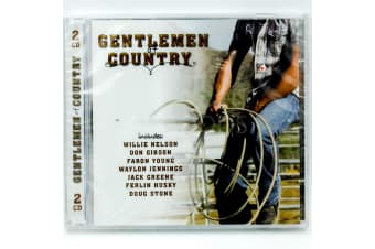 GENTLEMAN COUNTRY (2 CD SET) Ferlin Husky Willie Nelson Don Gibson CD NEW SEALED