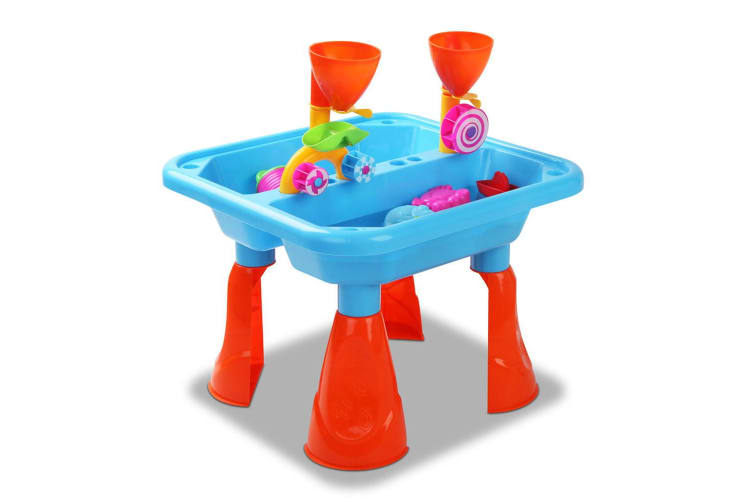 eezi Kids Outdoor Toys Beach Sandpit Sand and Water Childrens Play Table Set